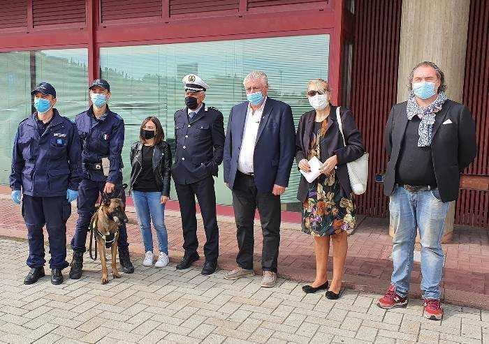 Sassuolo, ecco Hector cane anti-droga della Polizia Locale