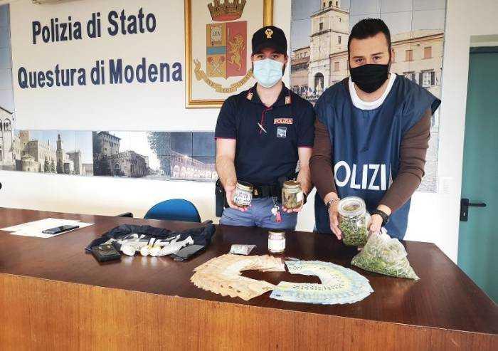 Modena, bloccato giro di spaccio in zona Musicisti