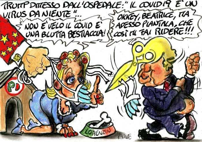 Trump e il Covid