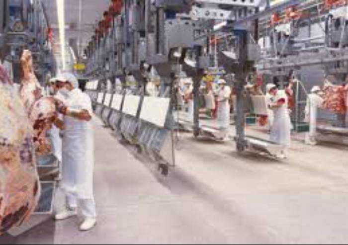 Castelvetro, mobilitazione dei sindacati davanti all'Inalca