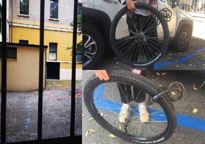 Razzia di bici nel cortile della scuola: studenti esasperati