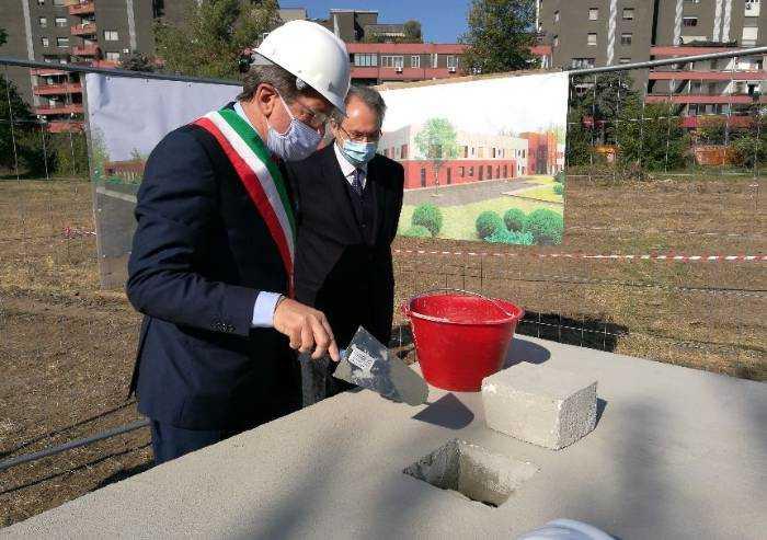Modena, prima pietra per la nuova Cra intitolata a Gorrieri
