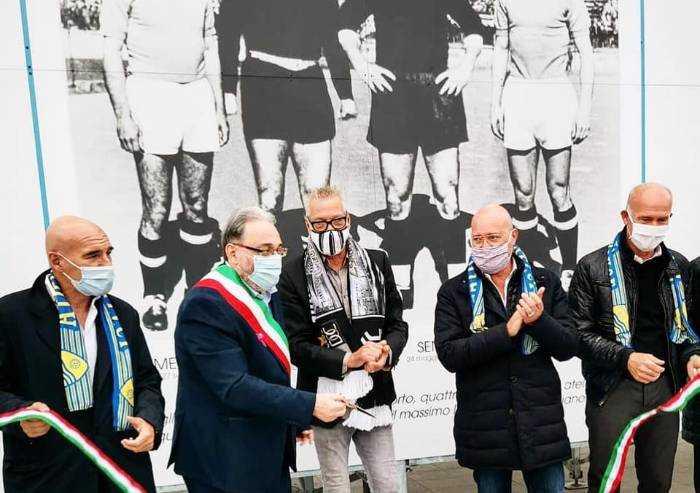 Bomporto, inaugurato da Stefano Tacconi il nuovo stadio Sentimenti
