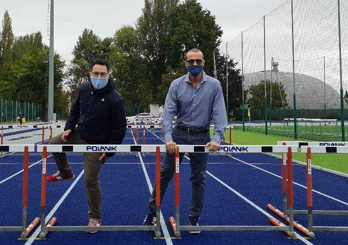 Castelfranco, ecco la nuova pista di atletica