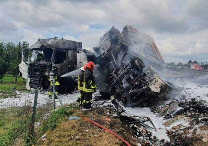 'Tragedia in A1: accendere riflettori su trasporto merci pericolose'