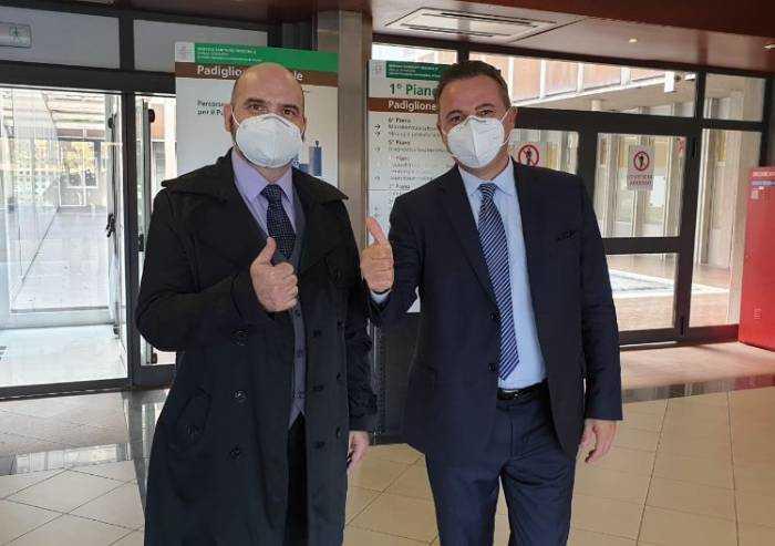 'Covid, salvato dai medici di Parma dopo 4 mesi di terapia intensiva'