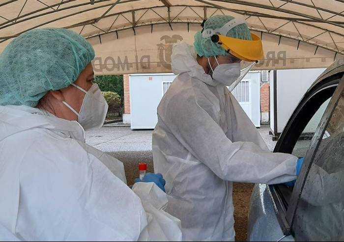 Covid, su 84 casi in provincia di Modena, 6 pazienti ricoverati