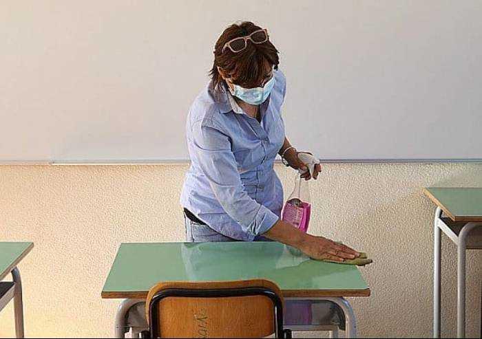 Covid a scuola, cinque classi in isolamento e una scuola chiusa
