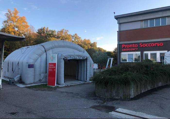 Covid, all'ospedale Ramazzini di Carpi 5 pazienti positivi