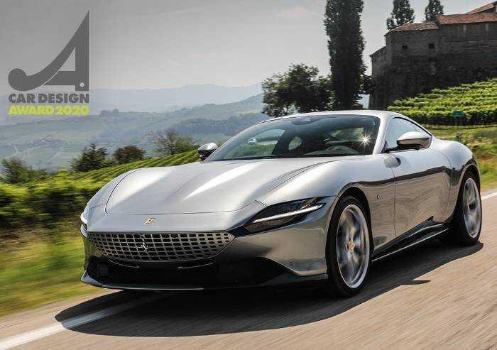 Car Design Award 2020: vince la Ferrari Roma