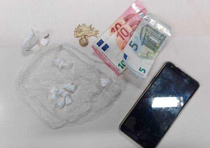 Spaccio di cocaina: quarto arresto in 4 giorni in zona Cialdini