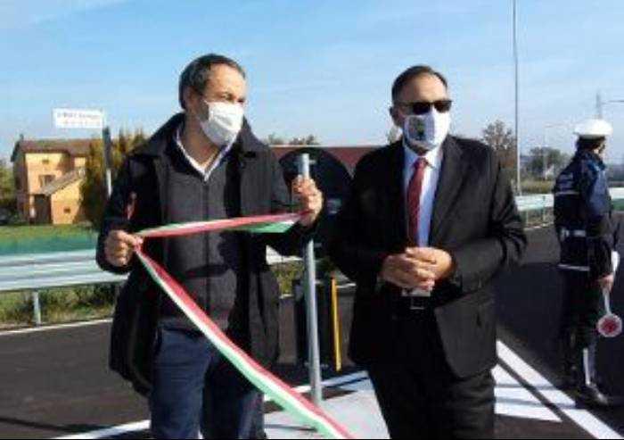 Inaugurata la variante sulla Provinciale tra Carpi e Correggio