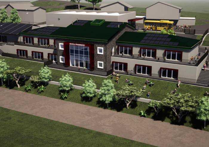 Frassinoro: altri 500.000 euro per il nuovo polo scolastico