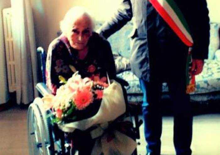 Fiorano, festa per i 100 anni di Amalia Lei