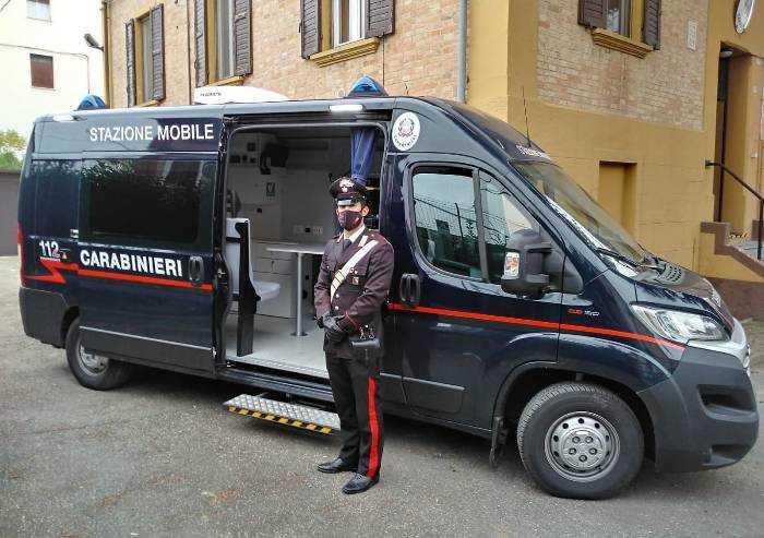 Ravarino, un carabiniere della Stazione locale positivo al Covid