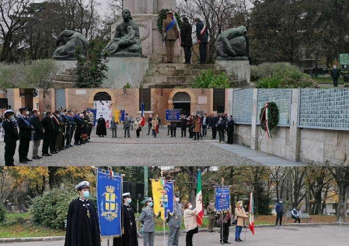 Per il 4 novembre, alzabandiera e onore ai Caduti