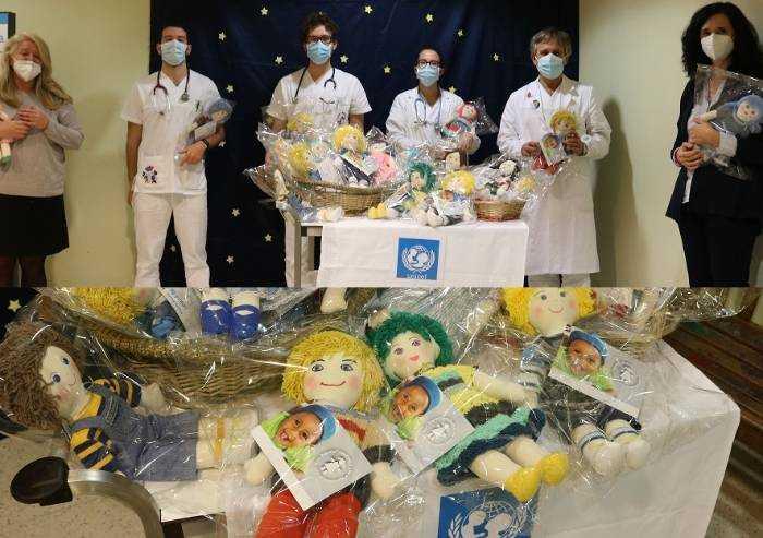 Le Pigotte Unicef entrano in ospedale