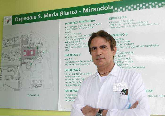 Covid, così si lavora nell'area subintensiva respiratoria di Mirandola