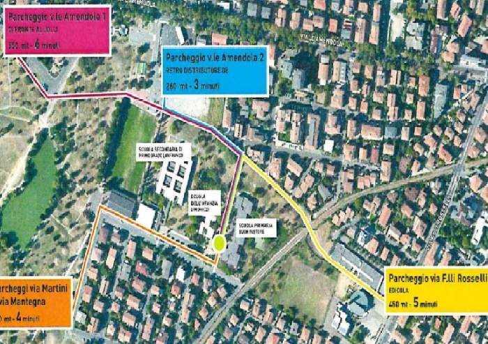 Modena, via Simonazzi: stop alle auto da e verso le scuole