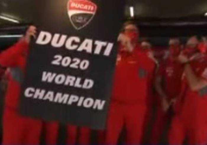 Moto GP: Ducati campione del mondo costruttori