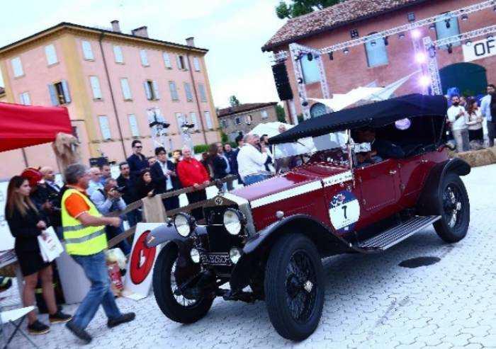 La Mille Miglia rifarà tappa a Modena