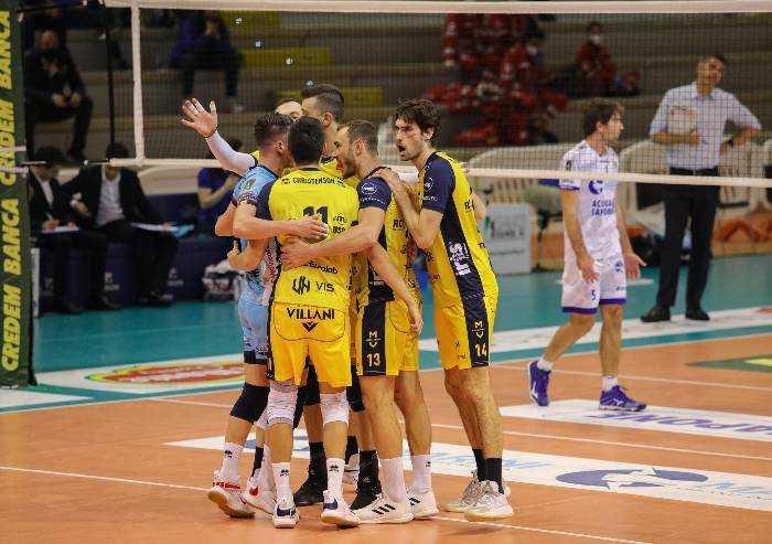 Volley superlega: Modena vince a Cisterna