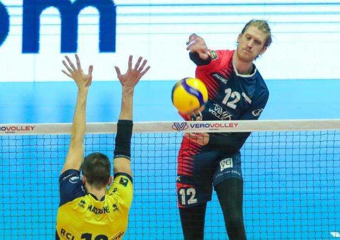Volley Superlega: Modena battuta a Monza