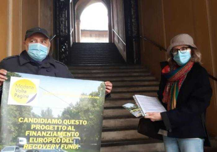 Modena, petizione metrotranvia: raccolte 229 firme