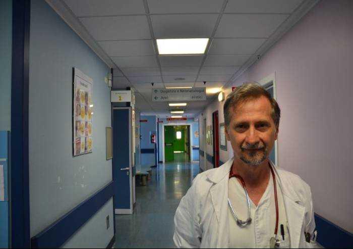 Pediatria Area Nord, Paolo Lanzoni va in pensione