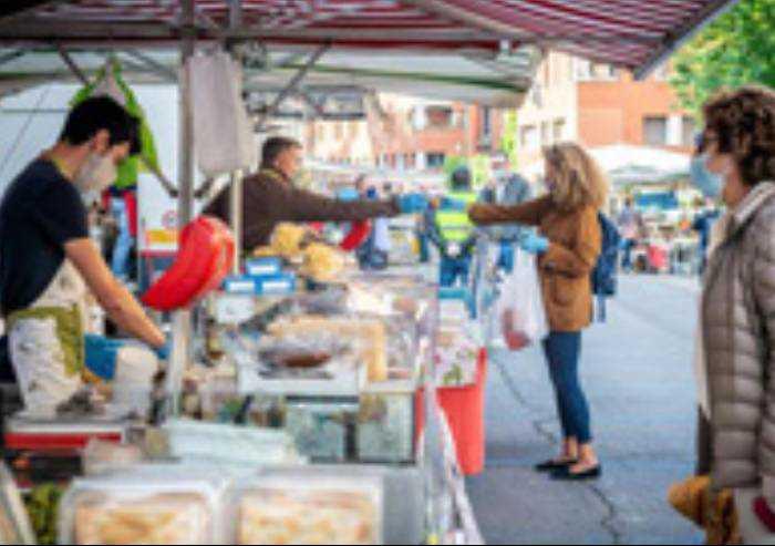 Covid, da sabato torna il mercato in piazza a Pavullo