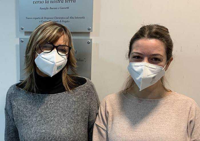 Modena, trapianto fegato da donatore vivente: figlia salva la mamma Cristina