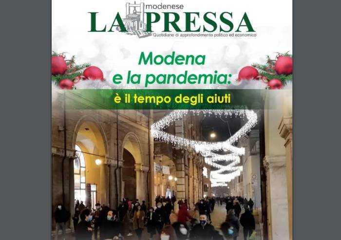 Torna La Pressa di carta: Modena e la pandemia, è il tempo degli aiuti