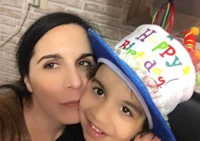 Thomas compie 8 anni: gli auguri della mamma
