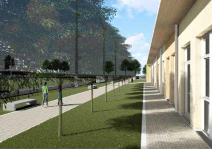Serramazzoni, al via il nuovo Polo scolastico al campo Pio Roccaforti