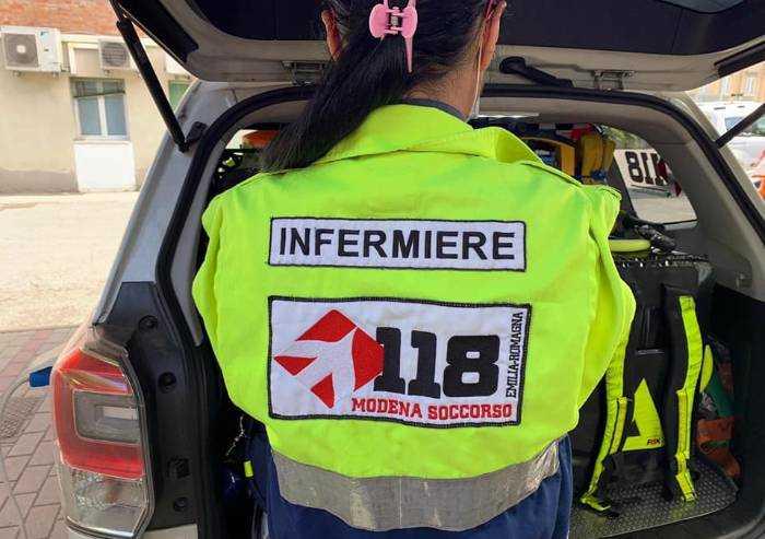 Grazie al volontariato, l'auto infermieristica diurna Alto Frignano 2