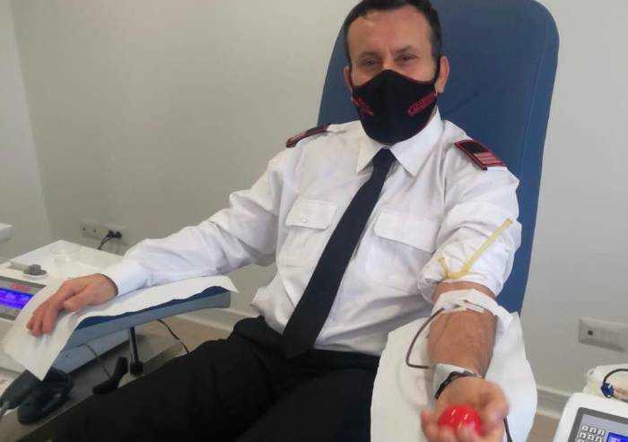 Covid, i carabinieri di Carpi guariti donano il plasma