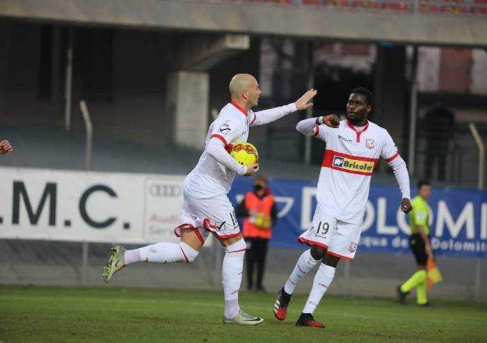 Carpi, vittoria mancata: 2-2 con il Gubbio