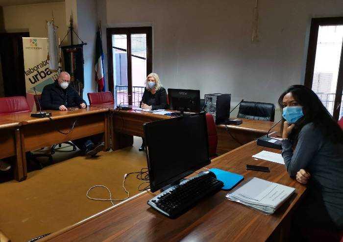 Alluvione Nonantola, Bonaccini, Priolo e Nicolini incontrano sindaco