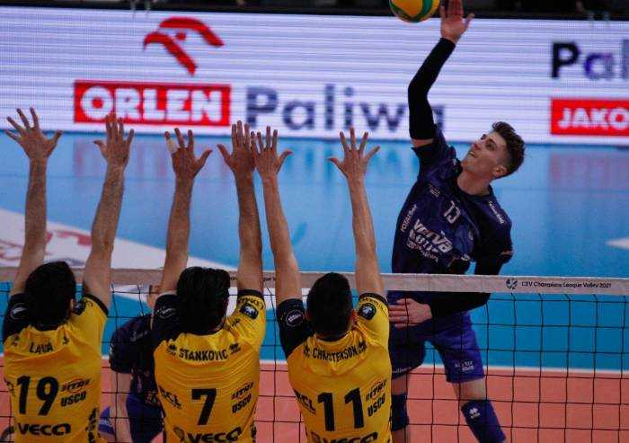Volley Champions: Leo Shoes batte Varsavia