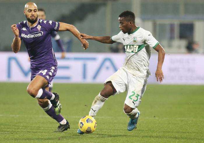 Fiorentina-Sassuolo 1-1