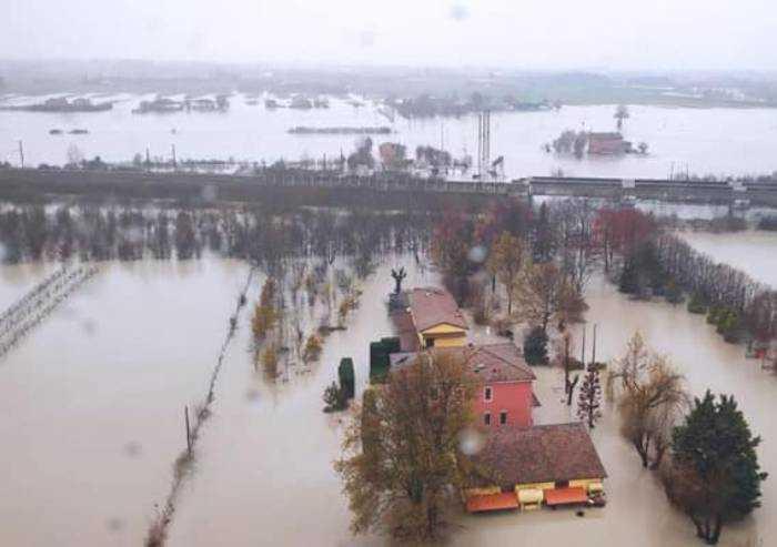 Danni alluvione, prima stima ammonta a 80 milioni