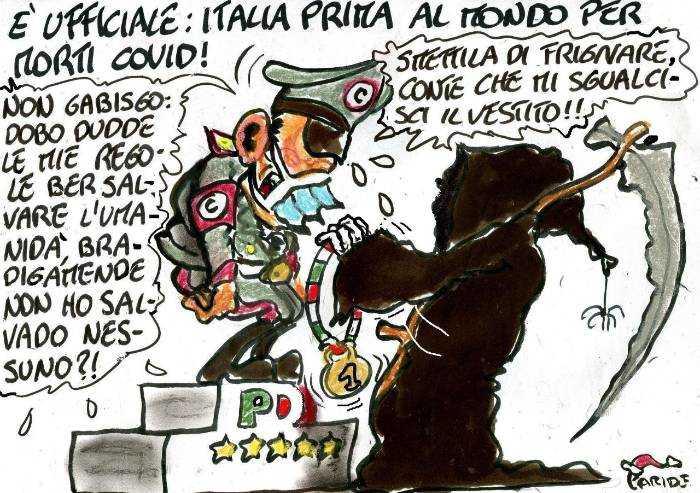 Covid, primati italiani