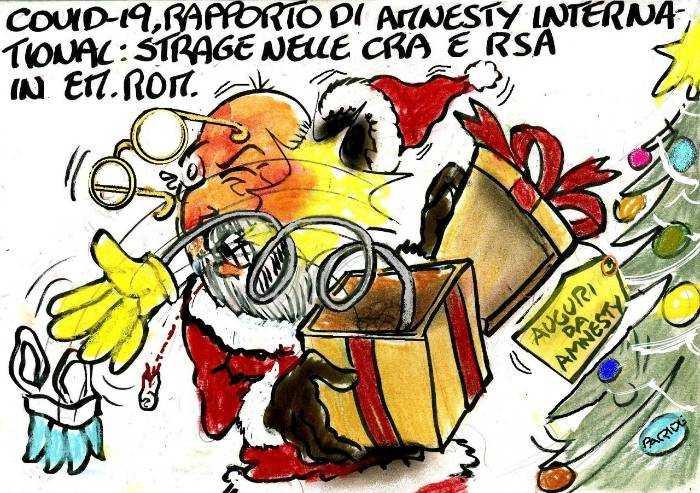 La strage nelle Cra: il rapporto Amnesty