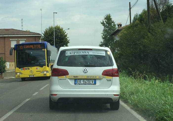 Taxi Modena, si fondono i consorzi Cotamo e Area Taxi