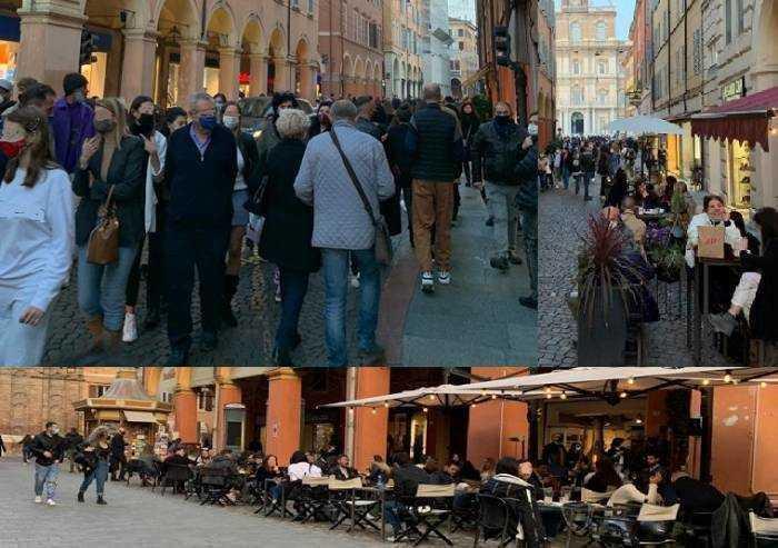 Natale a Modena, calano le vendite aumentano i poveri