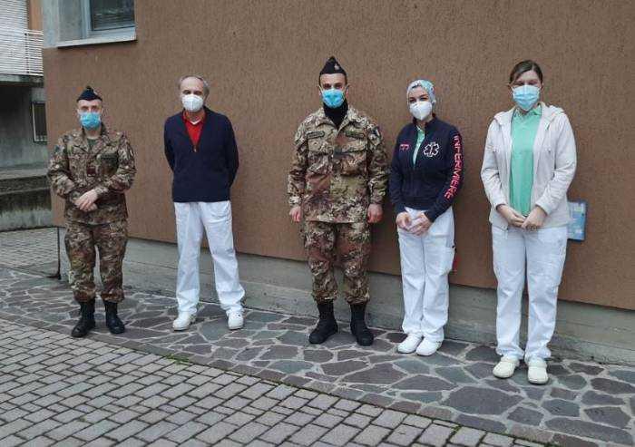 Mirandola, Cra Cisa: arrivano sottufficiali infermieri dell'esercito