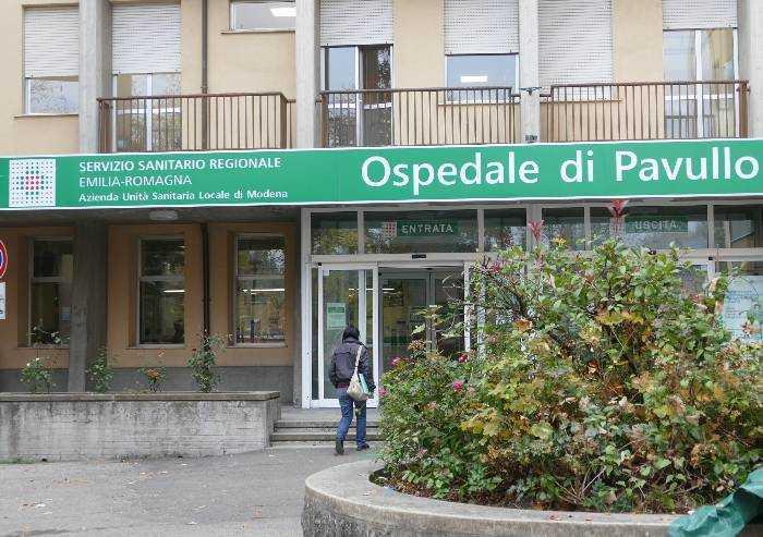 Covid, ospedale Pavullo: 4 nuove stanze degenza a pressione negativa