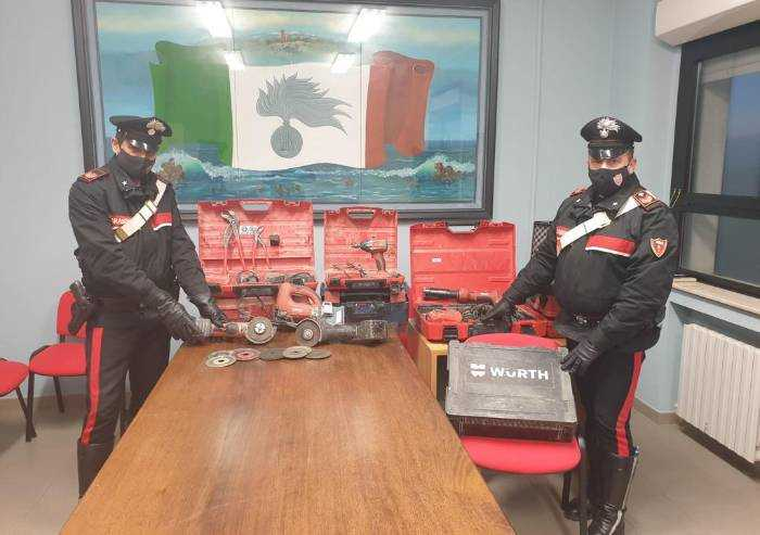Pavullo, furto in azienda termoidraulica: arrestati due rumeni