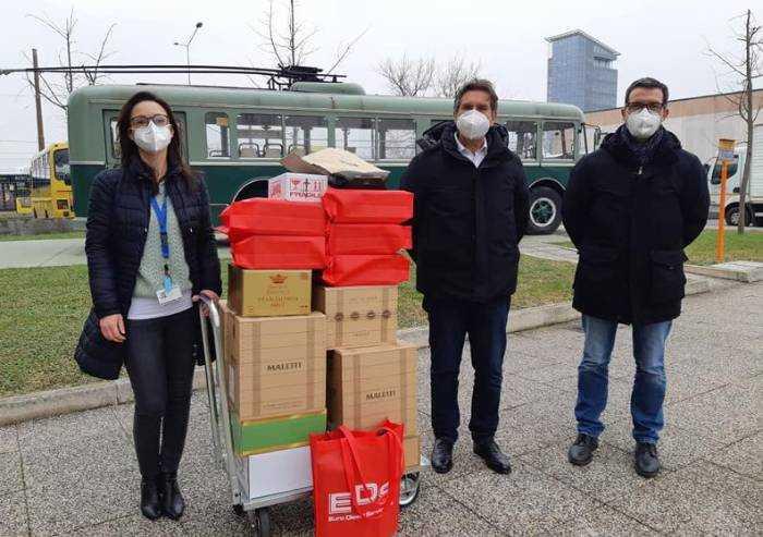 Covid, da Seta una donazione all'azienda ospedaliera di Modena
