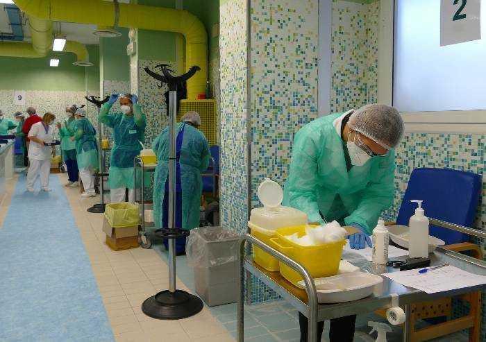 Coronavirus: alle 19 vaccinate oltre 6.600 persone